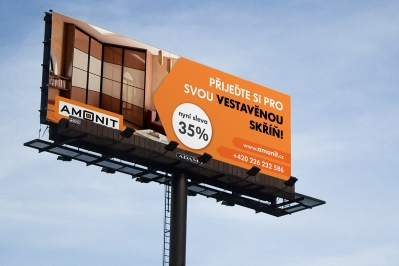 AMONIT billboard